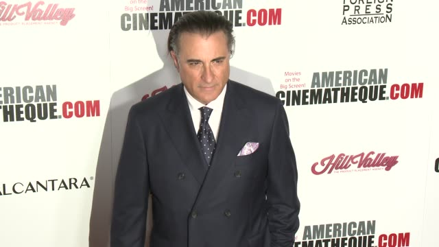 Andy Garcia at 30th Annual American Cinematheque Awards Gala in Los Angeles CA