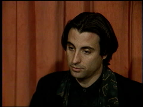 Andy Garcia at the 1991 Academy Awards Luncheon at the Beverly Hilton in Beverly Hills California on March 19 1991