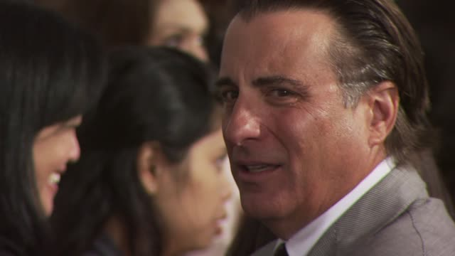 Andy Garcia at the 2010 Film Independent's Spirit Awards Arrivals Part 2 at Los Angeles CA