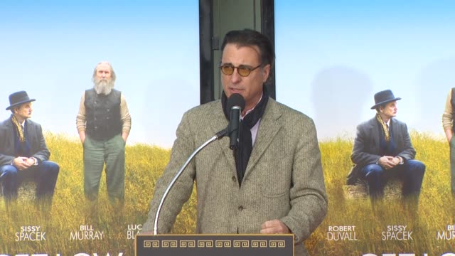 Andy Garcia at the Robert Duvall Hand And Footprint Ceremony at Hollywood CA