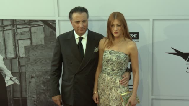Andy Garcia Daniella GarciaLorido at AFI Life Achievement Award Gala Tribute To Diane Keaton in Los Angeles CA