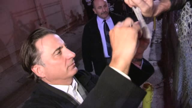 Andy Garcia greets fans in Hollywood 01/24/13