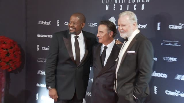 Andy Garcia Jon Voight and Forest Whitaker Sophia Loren's 80th Birthday Celebration on September 20 2014 in Mexico City Mexico