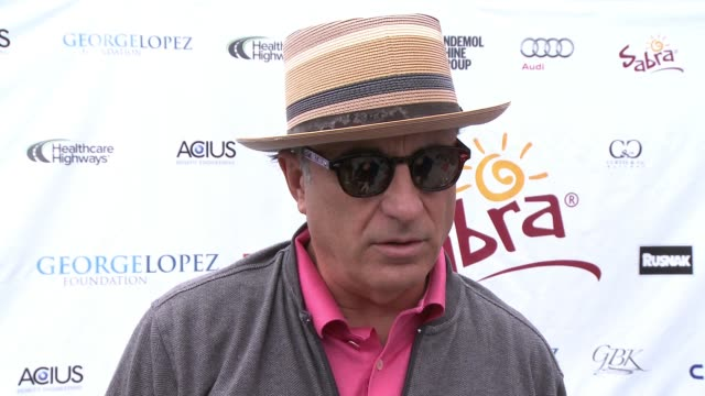 INTERVIEW Andy Garcia on being a part of today what he appreciates about George and his philanthropic efforts if he's an avid golfer what he...