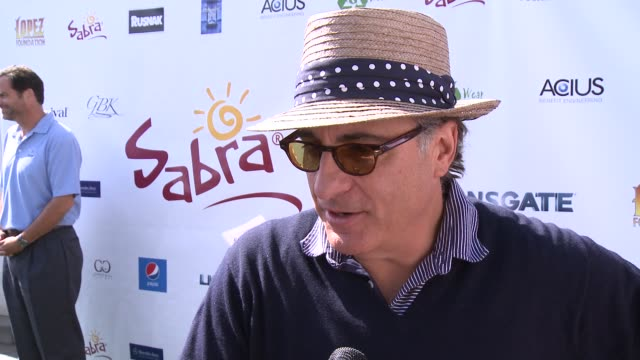 INTERVIEW Andy Garcia on how he feels about George Lopez's philanthropic efforts at The 7th Annual George Lopez Celebrity Golf Classic Presented By...