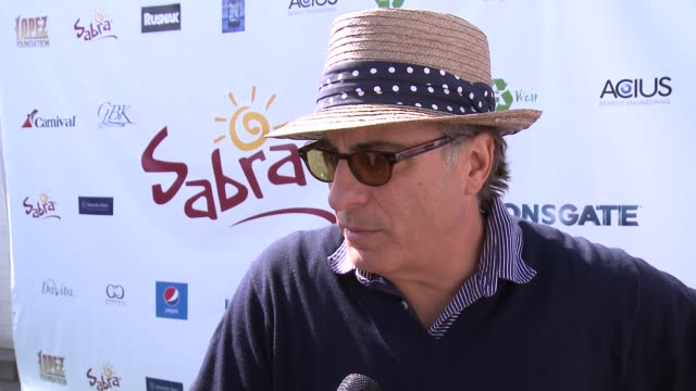 INTERVIEW Andy Garcia on if it gets competitive at The 7th Annual George Lopez Celebrity Golf Classic Presented By Sabra Salsa at Lakeside Golf Club...