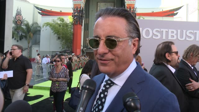 INTERVIEW Andy Garcia on what it means to have his movie premiere here at the iconic TCL Chinese Theatre and on what it was like working with this...