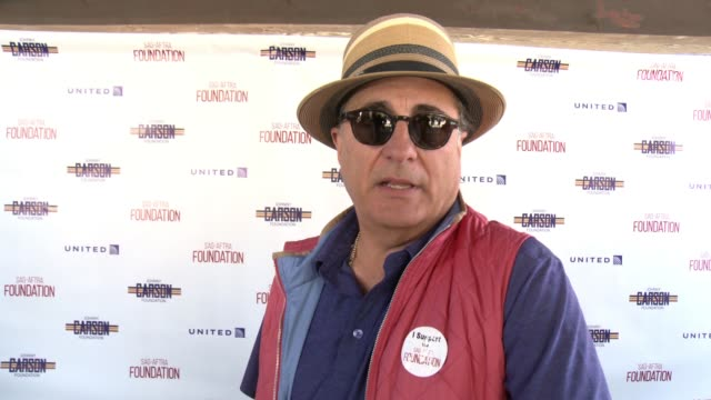 INTERVIEW Andy Garcia on why it was important for him to host play in the SAGAFTRA Foundation golf classic the importance of having a foundation...