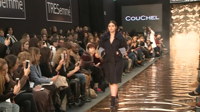 Andy Garcia's daughter Alessandra Garcia walks the runway during Couchel fashion show