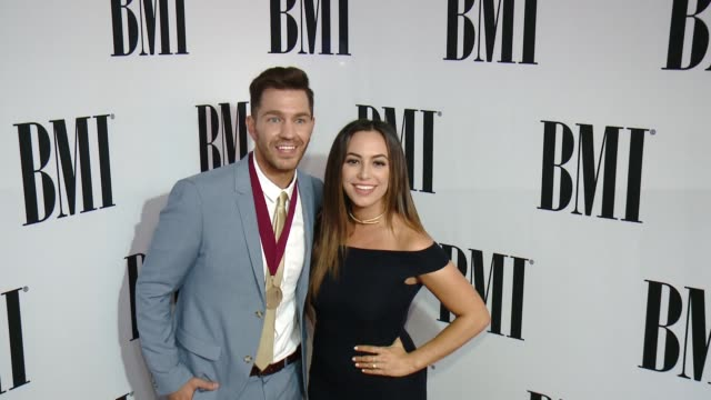 Andy Grammer and Aijia Lise at 64th Annual BMI Pop Awards at the Beverly Wilshire Four Seasons Hotel on May 10 2016 in Beverly Hills California