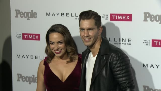 Andy Grammer and Aijia Lise Grammer at the People Magazine's 'One's To Watch' Celebration at Ysabel on September 16 2015 in West Hollywood California