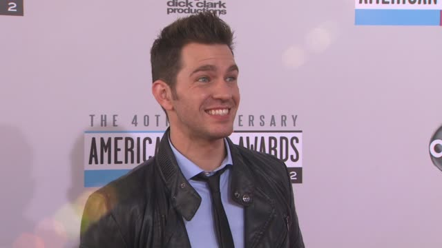 Andy Grammer at The 40th American Music Awards Arrivals on in Los Angeles CA