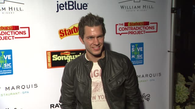 Andy Grammer at the Starburst Presents Songwriters Music Series To Benefit The VH1 Save The Music Foundation at West Hollywood CA