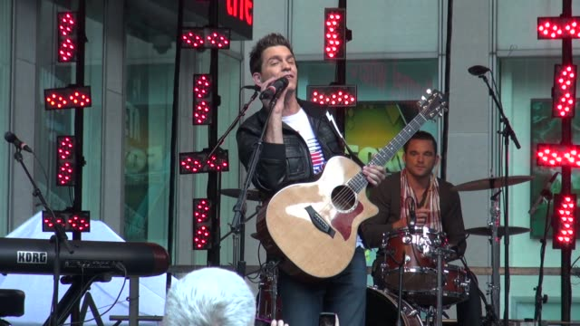 Andy Grammer performing on 'Fox and Friends' Andy Grammer performing on 'Fox and Friends' on June 08 2012 in New York New York