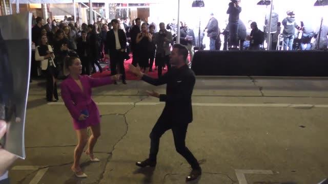 Andy Grammer sings Happy Birthday to Haley Lu Richardson in Celebrity Sightings in Los Angeles