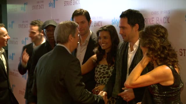 andy harris orla brady richard armitage shelly conn dhafer l'abidine shaun parkes andrew lincoln ewen bremner at the strike back premiere uk at... - ewen bremner stock videos & royalty-free footage