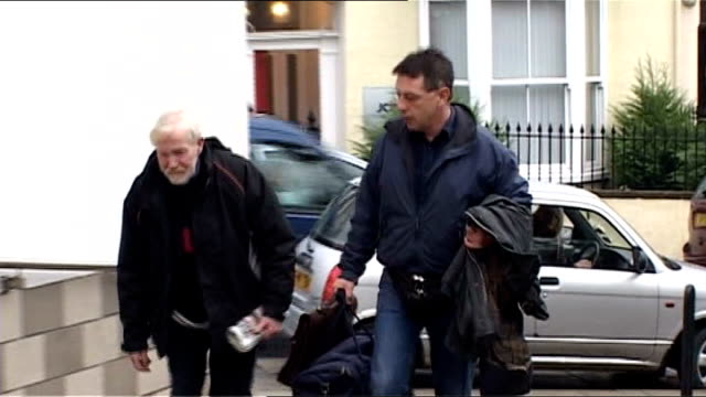 andy kershaw prison sentence isle of man douglas ext andy kershaw along to court with unidentified man - isle of man stock videos & royalty-free footage