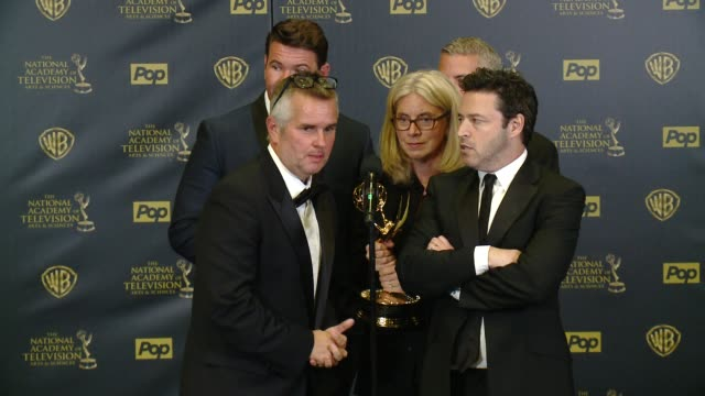SPEECH Andy Lassner Kevin Leman Ed Glavin Mary Connelly Jonathan Norman on working on the showat 42nd Annual Daytime EMMY Awards at Warner Bros...