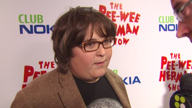 Andy Milonakis at the 'The Peewee Herman Show' Opening Night at Los Angeles CA