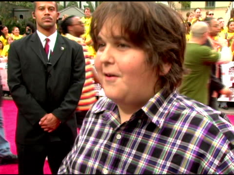 andy milonakis/ comedian he talks about playingjokes on the same pizza guys in his neighborhood,coming out of character and laughing all day long... - radio city music hall stock videos & royalty-free footage