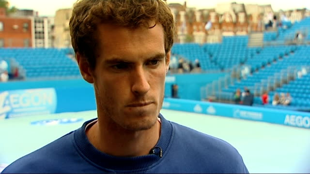 Andy Murray general views and interview Andy Murray interview SOT Its nice I think I have only been seeded 1 once before at an ATP eventthough it...