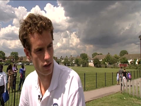 Andy Murray talks about preparations for Wimbledon 16 June 2009