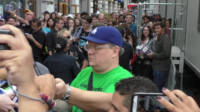Andy Richter at ComicCon Celebrity Sightings on July 09 2015 in San Diego California