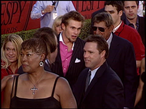andy roddick at the 2004 espy awards at the kodak theatre in hollywood california on july 14 2004 - andy roddick stock-videos und b-roll-filmmaterial
