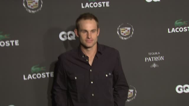 andy roddick at the gq cadillac lacoste and patron tequila celebrate coolest athletes and the big game in dallas at dallas tx - andy roddick stock videos and b-roll footage