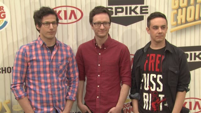 andy samberg akiva schaffer jorma taccone at spike tv's 2013 guys choice on 6/8/2013 in culver city ca - akiva schaffer stock videos and b-roll footage