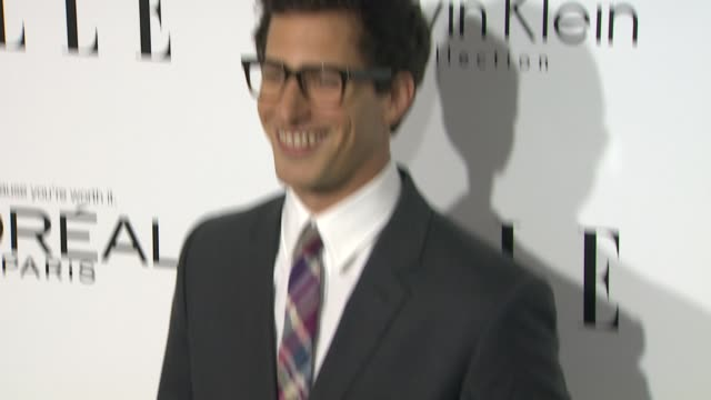 Andy Samberg at 20th Annual ELLE Women In Hollywood in Beverly Hills CA on 10/21/13