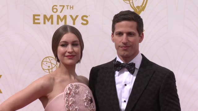 Andy Samberg at 67th Annual Primetime Emmy Awards in Los Angeles CA