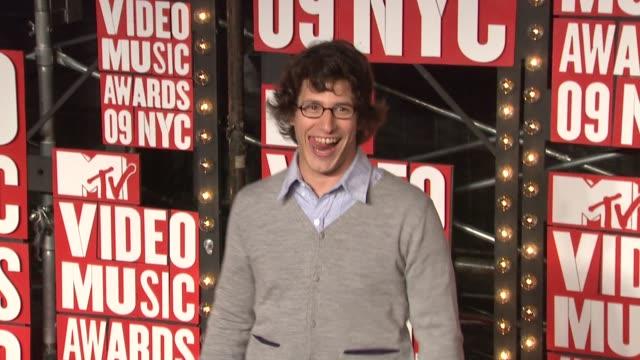 Andy Samberg at the 2009 MTV Video Music Awards at New York NY