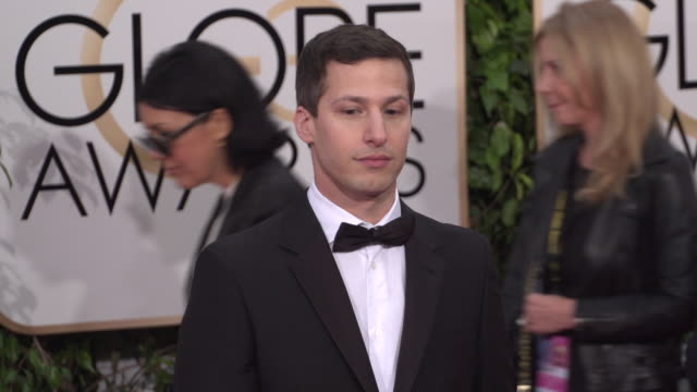 Andy Samberg at the 73rd Annual Golden Globe Awards Arrivals at The Beverly Hilton Hotel on January 10 2016 in Beverly Hills California 4K