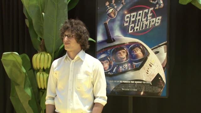 Andy Samberg at the 'Space Chimps' Screening at Los Angeles CA