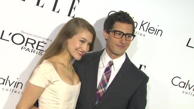 Andy Samberg Joanna Newsom at 20th Annual ELLE Women In Hollywood in Beverly Hills CA on 10/21/13
