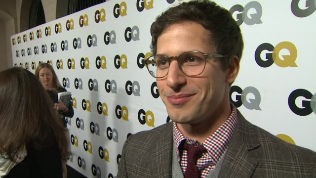 INTERVIEW Andy Samberg on being wise ass of the year at GQ Men Of The Year Party in Los Angeles CA on 11/12/13