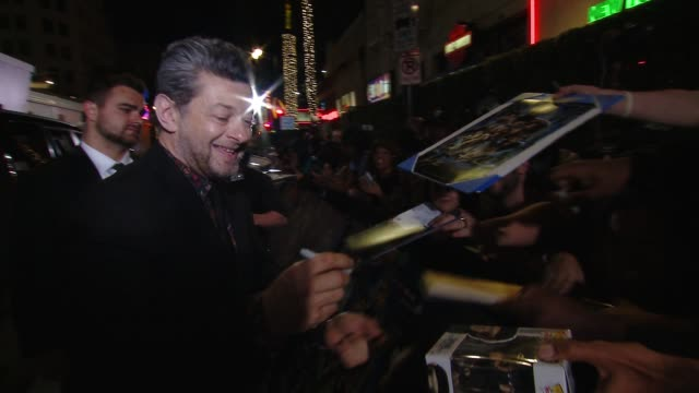 "Andy Serkis at Marvel Studios' ""Black Panther"" World Premiere in Los Angeles CA"