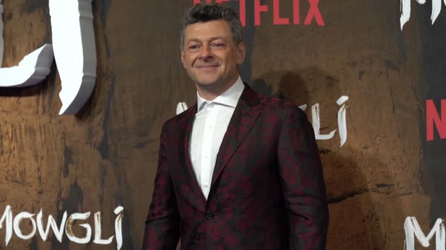 andy serkis at 'mowgli: legend of the jungle' special screening on december 4, 2018 in london, england. - andy serkis stock videos & royalty-free footage