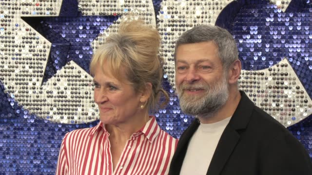 andy serkis at odeon luxe leicester square on may 20, 2019 in london, england. - andy serkis stock videos & royalty-free footage