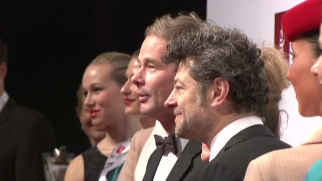 andy serkis at the 10th annual dubai international film festival on 12/6/2013 - andy serkis stock videos & royalty-free footage