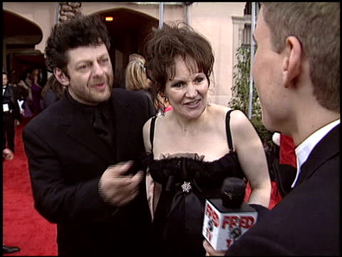 andy serkis at the 2004 screen actors guild sag awards at the shrine auditorium in los angeles, california on february 22, 2004. - andy serkis stock videos & royalty-free footage
