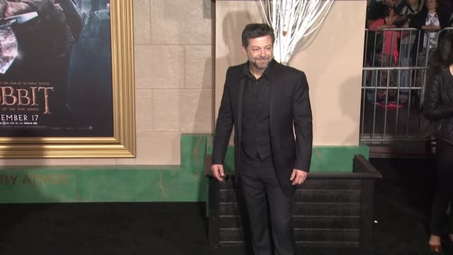 "andy serkis at ""the hobbit: the battle of the five armies"" los angeles premiere at dolby theatre on december 09, 2014 in hollywood, california. - the hobbit: the battle of the five armies stock videos & royalty-free footage"