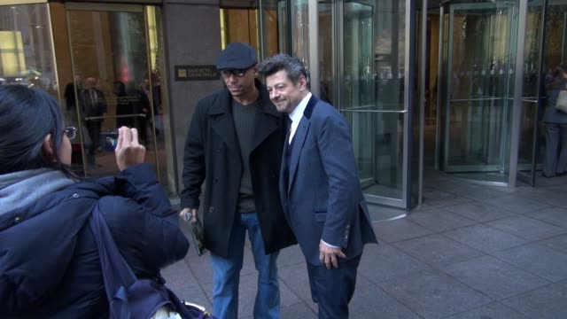 andy serkis at the siriusxm radio studio in new york, ny, on 12/4/12 - andy serkis stock videos & royalty-free footage