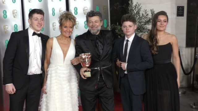 andy serkis attends the ee british academy film awards 2020 after party at the grosvenor house hotel on february 02 2020 in london england - british academy film awards stock videos & royalty-free footage