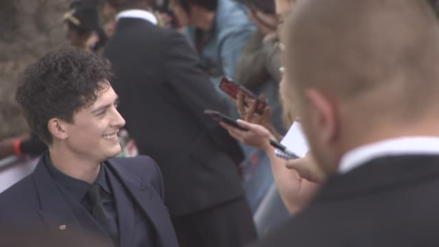 Aneurin Barnard at 'Dunkirk' World Premiere on July 13 2017 in London England