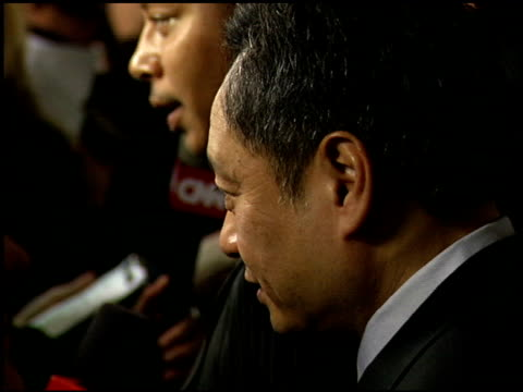ang lee at the 2006 lafca los angeles film critic's association awards at park hyatt in century city, california on january 17, 2006. - critic stock videos & royalty-free footage