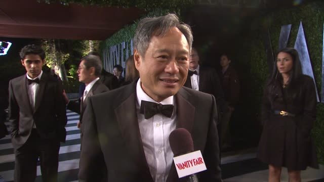 INTERVIEW Ang Lee at The 2013 Vanity Fair Oscar Party Hosted By Graydon Carter INTERVIEW Ang Lee at The 2013 Vanity Fair Oscar at Sunset Tower on...