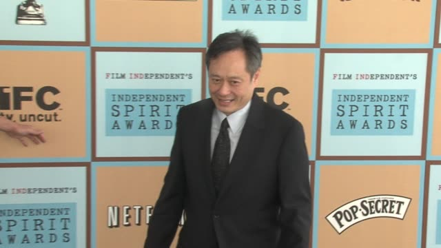 ang lee at the the 21st annual ifp independent spirit awards in santa monica california on march 4 2006 - ifp independent spirit awards stock videos and b-roll footage