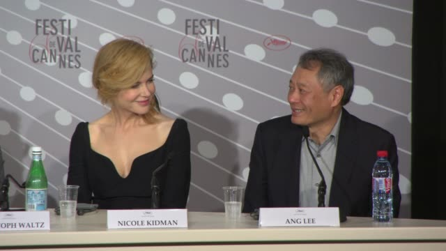 INTERVIEW Ang Lee on being afraid of jugding movies being inlvoved in the festival hoping the selection processes is smooth at Jury Press Conference...